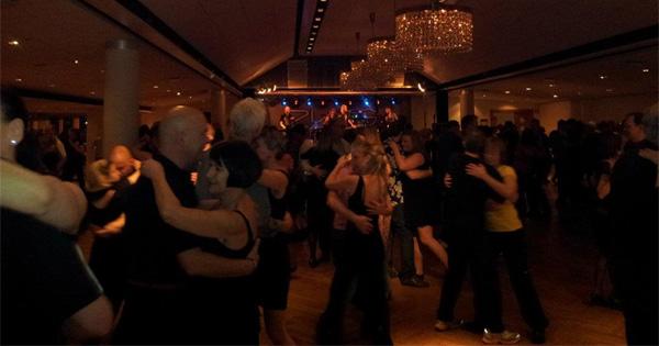 Dans på Mälarsalen. Foto: Helena Viking