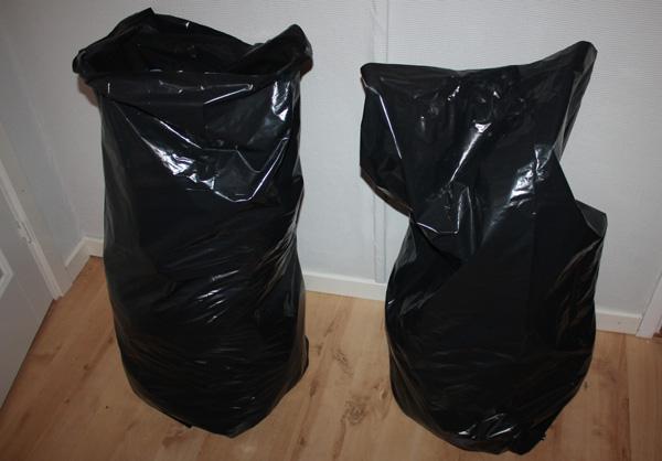 Klädsäckarna