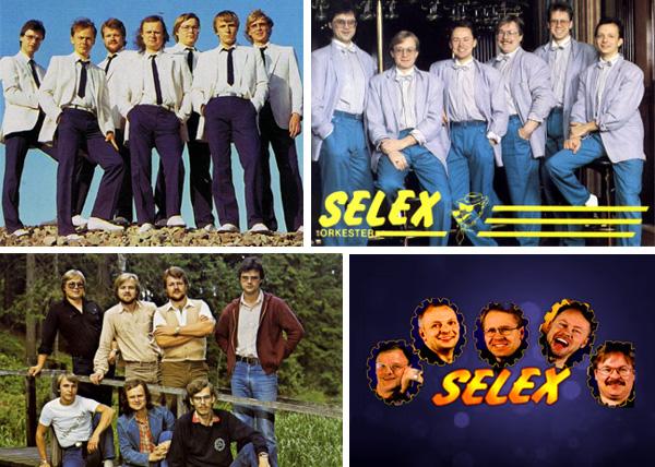 Äldre orkesterkort på Selex