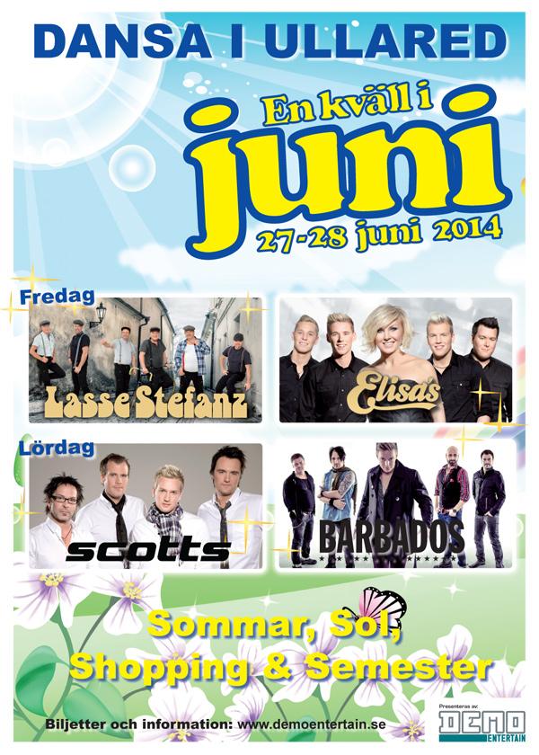 Ny dansbandsfestival i Ullared