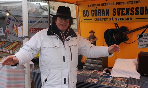 Bo-Göran Svensson på plats