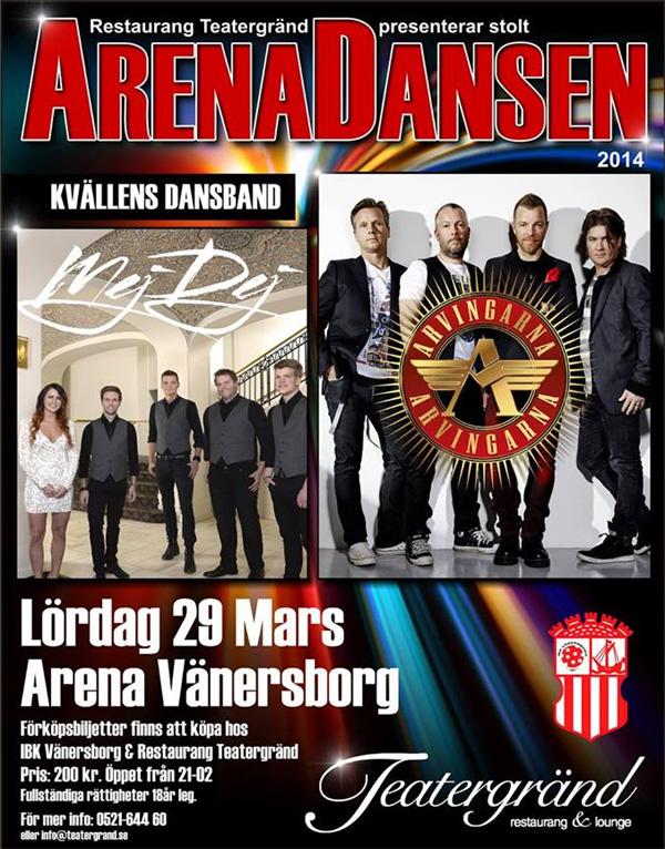 Arenadansen 2014 i Vänersborg