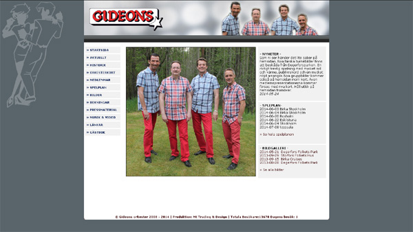 Gideons med ny hemsida