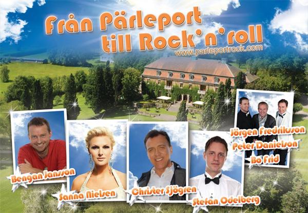 Från Pärleport till Rock'n' roll
