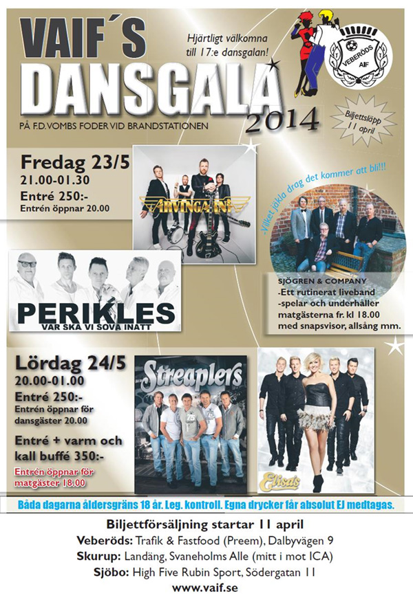 VAIFS Dansgala 2014