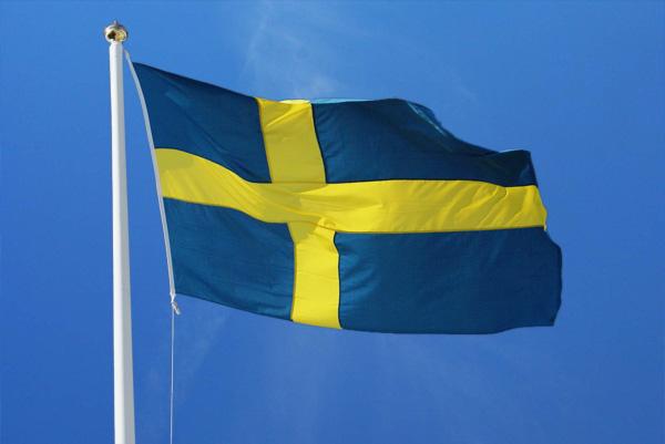 Flaggan är hissad