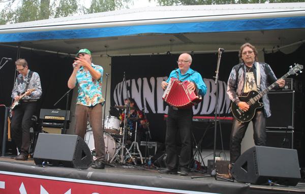 Svenne-Rubins på scenen