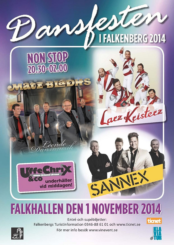 Dansfesten i Falkhallen 2014