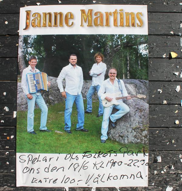 Janne Martins i Degerforsparken - Så klart vi drar dit