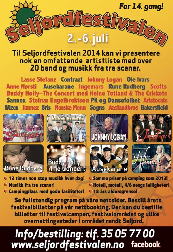 Seljordfestivalen 2014