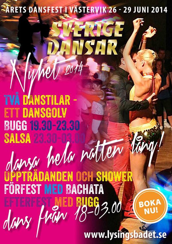 Sverige dansar och ler i Västervik
