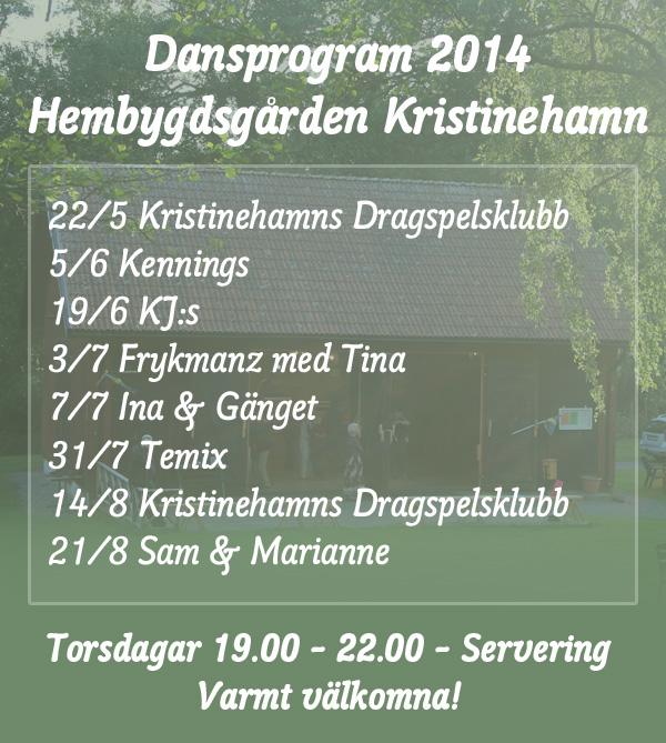 Dans på Hembygdsgården Kristinehamn 2014