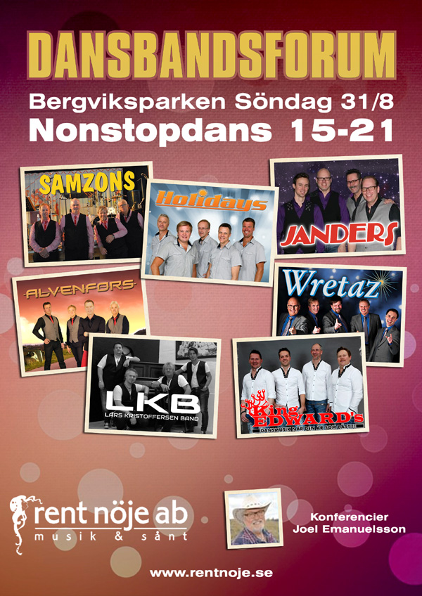 Dansbandsforum i Bergviksparken