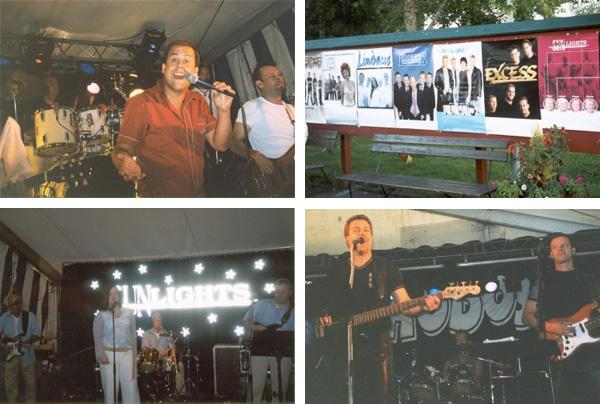 Diverse band som uppträtt på Fryksdalsdansen