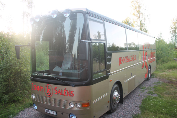 Guldis - Jenny Saléns orkesterbuss