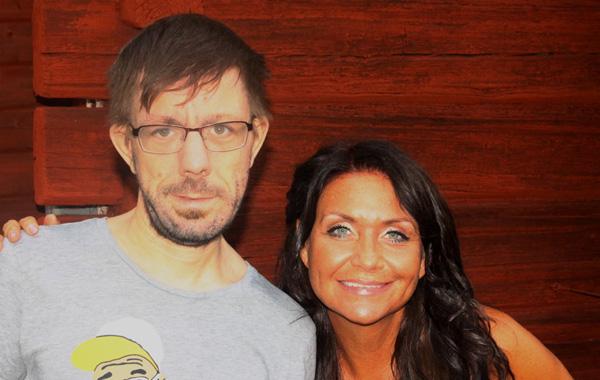 Jag och Christina Lindberg