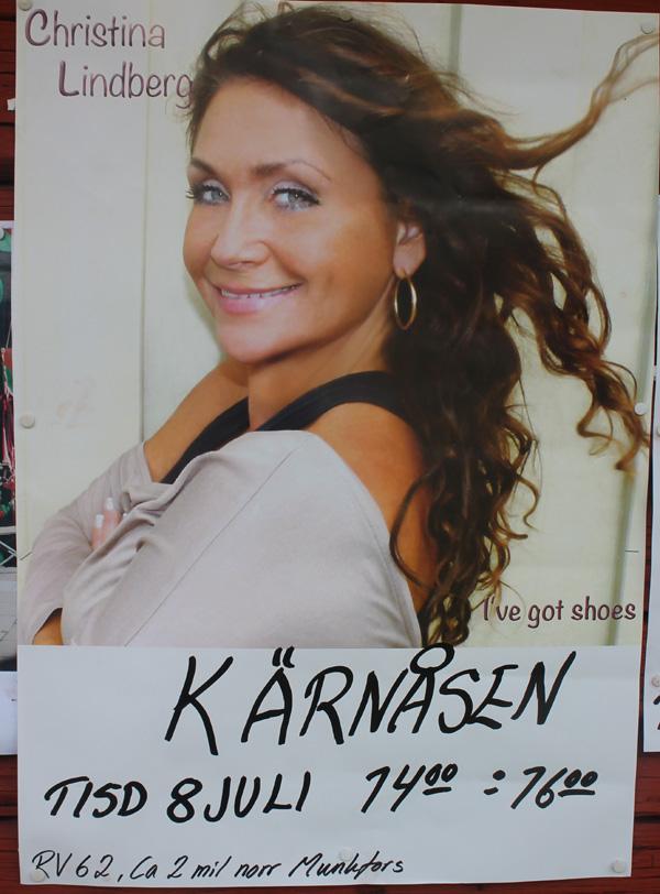 Christina Lindbergs affisch