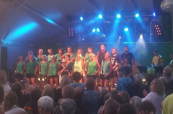 Ramona vann körkampen med Archipelago singers Foto/Copyright: Erica Lindroos