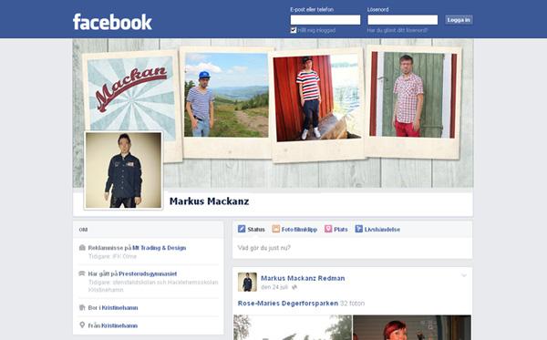 Mackan på facebook