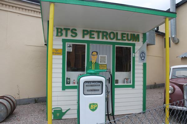 En gammal BP mack