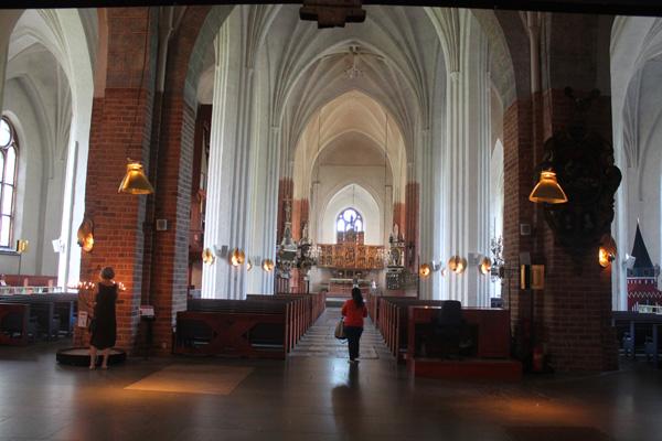 Interiör Västerås domkyrka