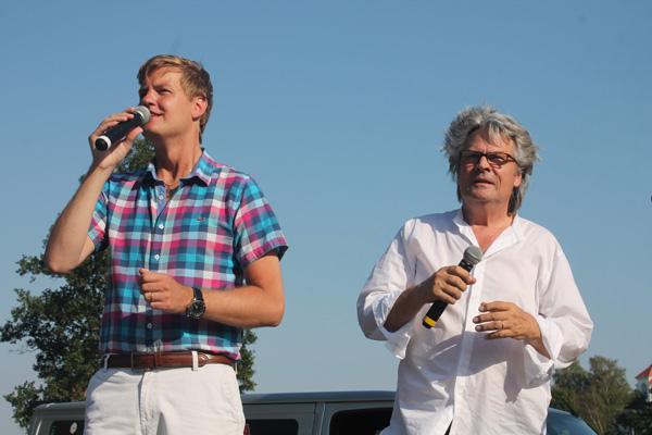 Johan Sigvardsson och Towe Widerberg