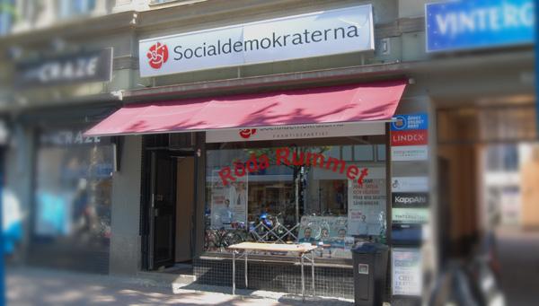 Socialdemokraternas Röda rummet