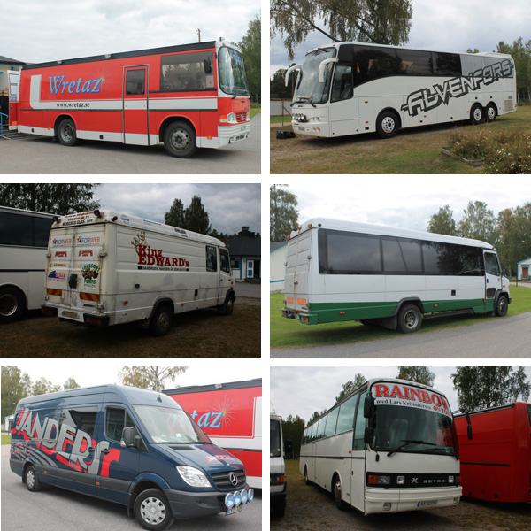 Orkesterbussar i Bergviksparken