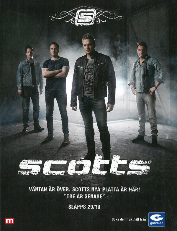 Scotts skivaktuella