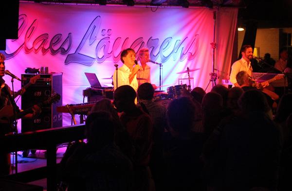 Claes Lövgrens på scenen