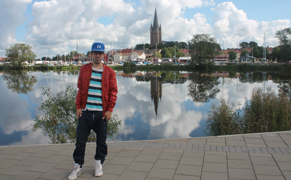 Jag i Mariestad