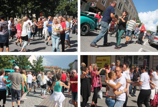 Dansare på stan
