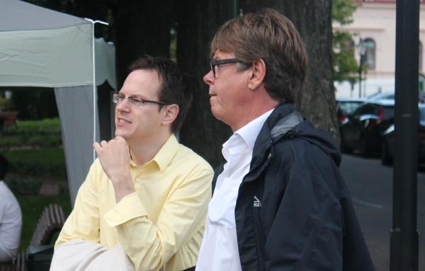 Thomas Deutgen och Mats Dahlberg