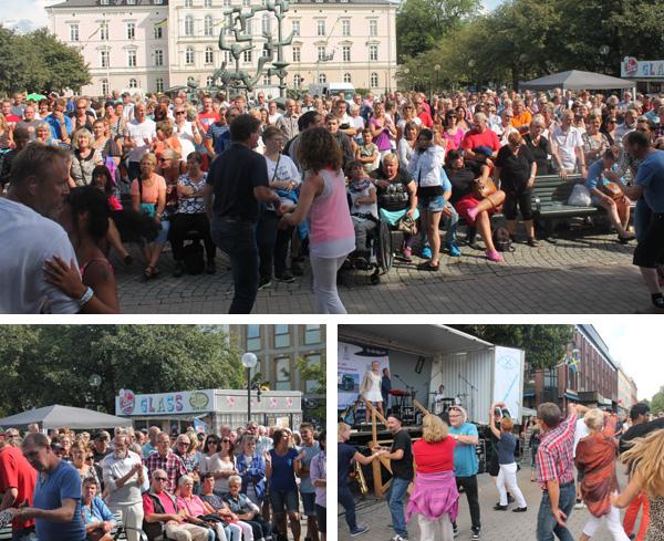Dansare på torget