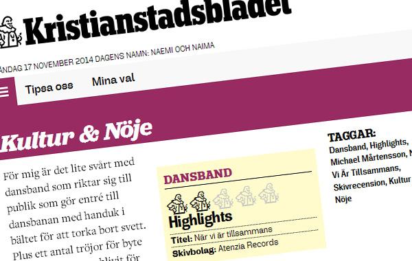 Klipp från Kristianstadbladet.se