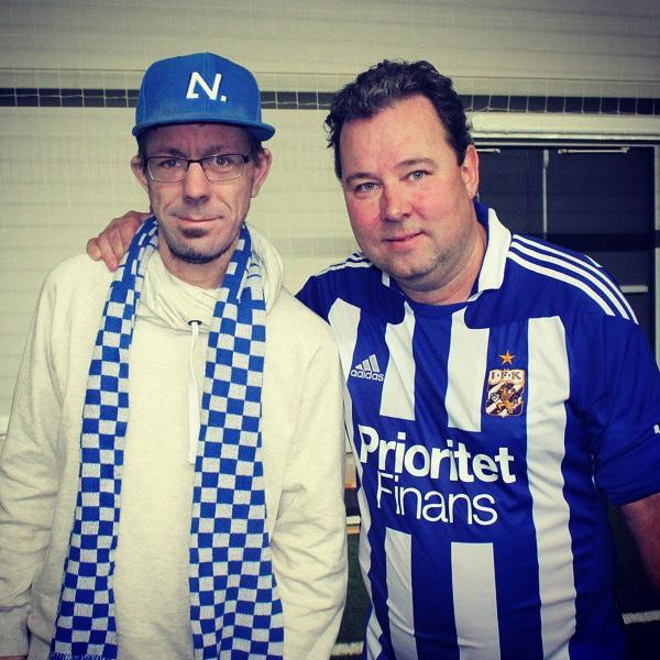 Jag och Stefan Rehn
