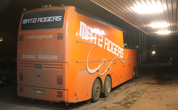 Matz Rogers orkesterbuss