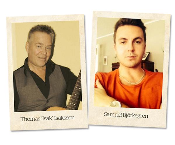 Isak och Samuel Fotomontage: Markus Redman