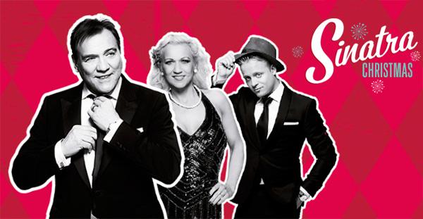 Sinatra Christmas. Christer Sjögren, Andreas Weise och Gunhild Carling