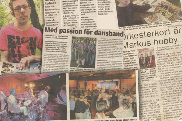 Pressklipp om Markus