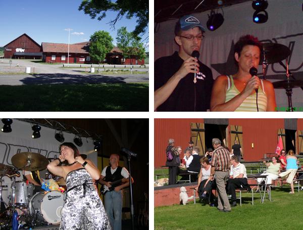 Bilder från en dansbandsdaxfest
