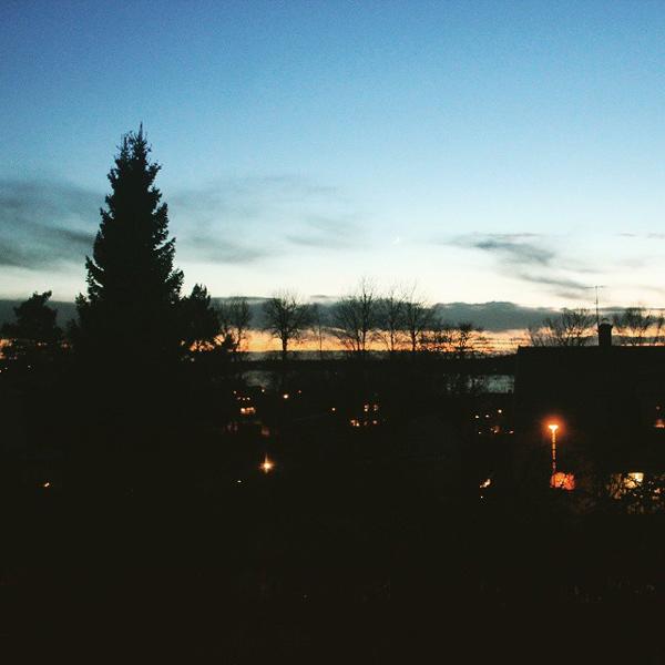 Utsikt från där jag bor