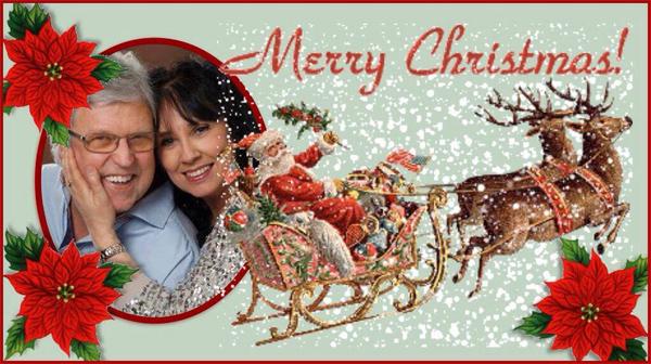 Ann-Catrine och Eriks julhälsning