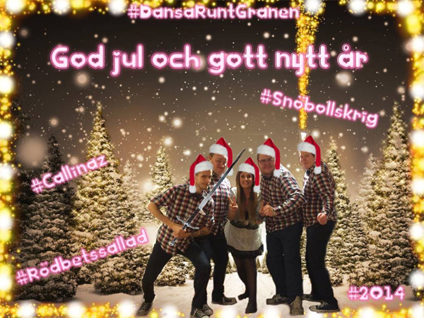 God Jul från Callinaz