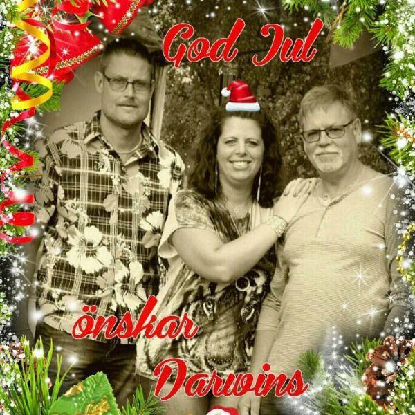 Julhälsning från Darwins