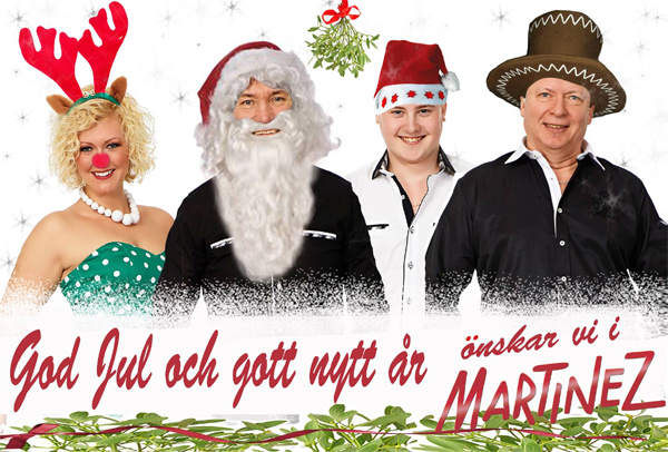 Martinez önskar God Jul