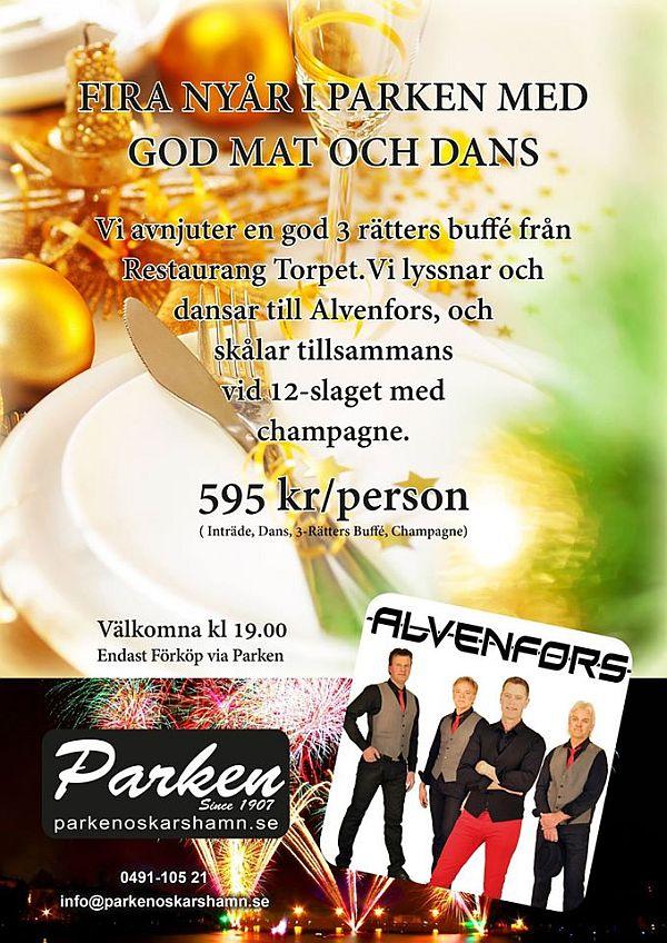 Nyårsdans i Oskarshamn