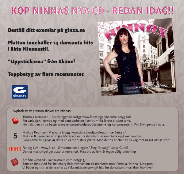 Köp Ninnas nya cd