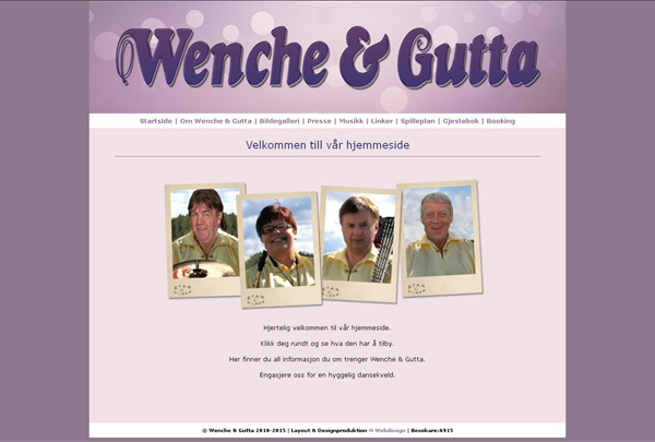 Wenche & Gutta med hemsida