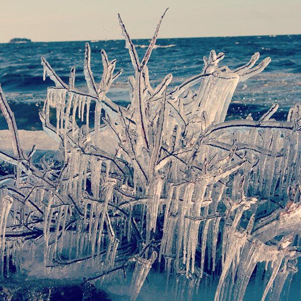 Fantastiskt vad isen kan göra